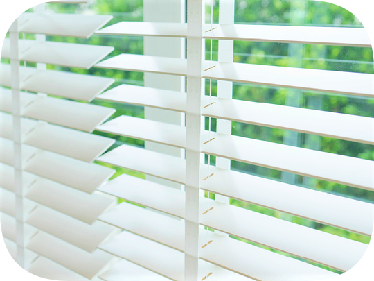 Faux Wood Venetian Blinds - Cork